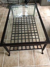 Glass top coffee table DeLand, 32724