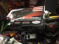 black and gray and black and gray power tool 1626 mi