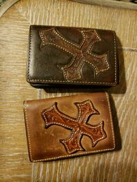 Leather front wallet  Lubbock, 79414