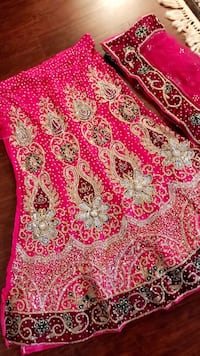 Heavy embroidery bridal lehenga Burnaby, V3N 2R5