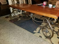 Real wood coffee table.  Jeffersonville, 47130