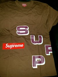Supreme stagger tee Chicago