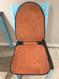 Handcrafted Leather Seat Cover from El Salvador