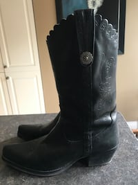 Western Leather Boots Burlington, L7N