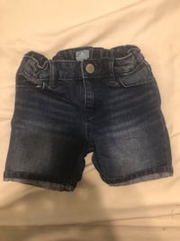 toddler's blue denim shorts Los Angeles, 90063