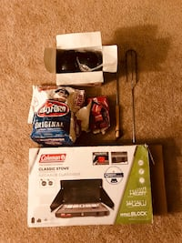Coleman Stove with other campfire items Wheeling, 60090