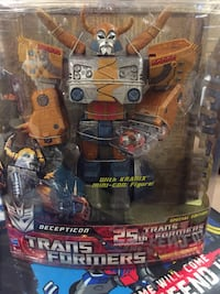 Transformers 25th Anniversary Unicron Limited Edition Hamilton