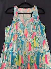 Lilly Pulitzer Women's Kerri Maxi Dress 26 km