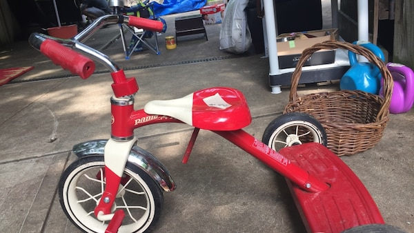 37f24085763 Used red and white Radio Flyer trike for sale in Pittsburgh - letgo