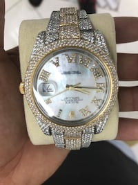 Iced out Rolex watch Cedar Hill, 75104