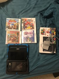 Nintendo 3ds XL + 4 games Vaughan, L6A 4Z8