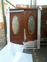brown wooden cabinet with mirror San Leandro, 94577