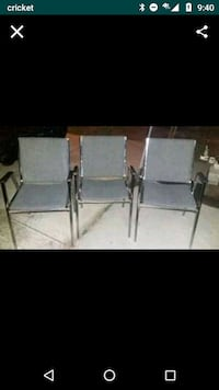 3 Metal Chairs all for 15$ Falls Church, 22041