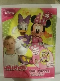 46 piece Minnie Mouse Wall Puzzle  Lacey Township, 08731