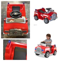 6 Volt Marshall Quad Ride-On for Kids With Realistic Firetruck Sounds