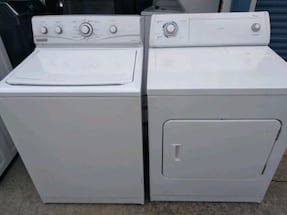 Maytag Whaser and Whirlpool drayer súper capacity