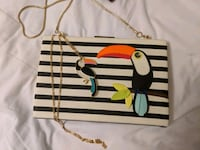 Kate Spade NY matching necklace and clutch set Edmonton, T5K 2Y3