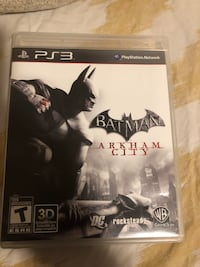 Batman Arkham City PS3 game case