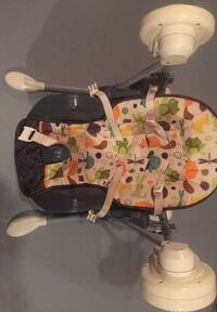 fisher-price swing and high chair