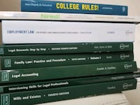 law/paralegal textbook  Toronto, M2J 4Z2
