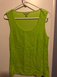 Green Flowered Blouse Brookeville, 20833