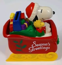 Whitman's Candies Snoopy Woodstock Piggy Bank Barrie, L4N 7L8