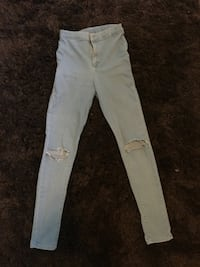 high waisted womens topshop jeans