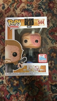 PoP Walking Dead Dwight vinyl figure box