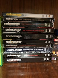 Entourage complete season on DVD plus the movie  Edmonton, T5X 4H4
