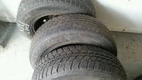 Winter tires with rims185/70/r14 Montreal, H8Y 1S3