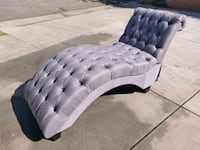 Grey Tufted Chaise Lounge Chair West Covina, 91790