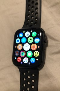 Apple - Apple Watch Nike Series 5 (GPS + Cellar) 44MM North Bergen, 07047