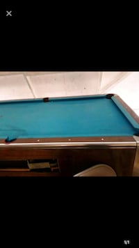 black and brown billiard table Thousand Oaks, 91360