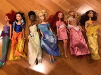 Disney Princess Barbie Set Buffalo Grove, 60089