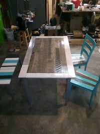 Handcrafted Rustic Table Set
