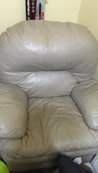 Recliner but broken so doesn't recline clean but has a couple of minor scratches
