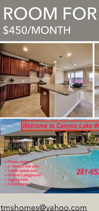ROOM For rent  Cypress, 77433