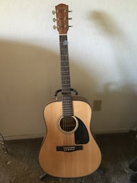 Fender acoustic guitar  null