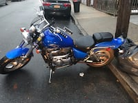 Blue and black touring motorcycle New York, 11368