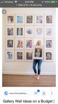 Great gift idea- 33 new 8 x 10 picture frames Oklahoma City, 73135