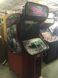Black and red crisis zone arcade game Warsaw, 46580
