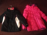 pink and black and white full-zip coats Newark, 19713