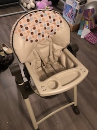 Graco Contempo Leather High Chair Mississauga, L5M 0A5