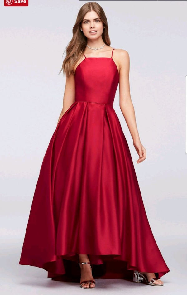 High Neck Satin Ball Gown  ffb9b3ab-7a0d-4e7d-97c5-71a51d5baa77