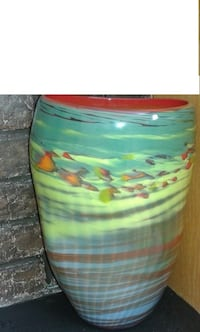 BRAND NEW HAND MADE ART VASE DESIGN FROM CANADA FOR SALE CALGARY