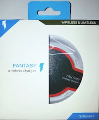 white, black, and red Fantasy wireless charger box Springfield