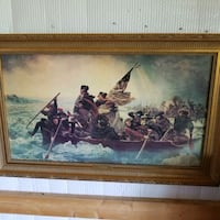 Washington Crossing the Delaware  Reading