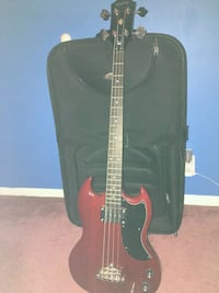 Epiphone ep -0 bass with amp Fowlerville, 48836