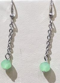 green and silver beaded necklace Toronto, M1B 4Y7