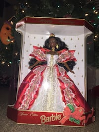 1997 special edition holiday Barbie Columbus, 43004